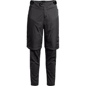 VAUDE All Year Moab ZO II Pantaloni con zip per MTB Uomo, nero
